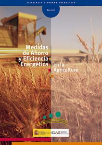 Medidas de ahorro y eficiencia energética en la agricultura