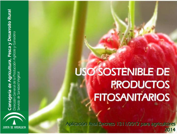 Presentación Uso Sostenible de Productos Fitosanitarios.